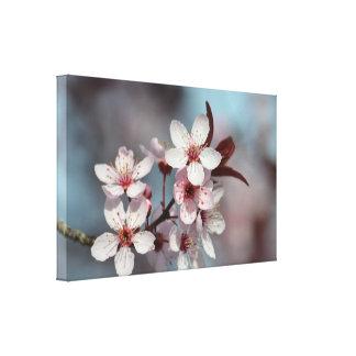 Flores de cerezo bonitas impresiones en lona