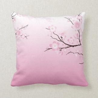 Flores de cerezo almohada