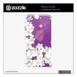 Flores de cerezo de Sakura Skin Para El iPhone 4