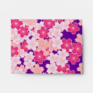 Flores de cerezo de Sakura Sobre