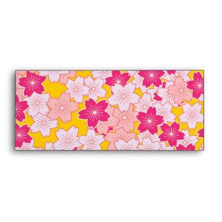 Flores de cerezo de Sakura Sobres