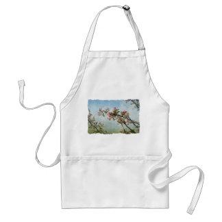 Flores de cerezo delantales