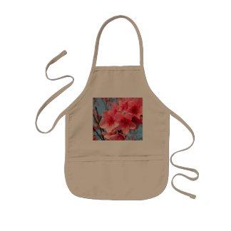 Flores de cerezo delantal infantil