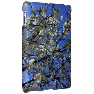 Flores de cerezo en caso del iPad de la primavera