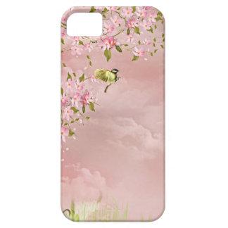 flores de cerezo en el cielo iPhone 5 fundas