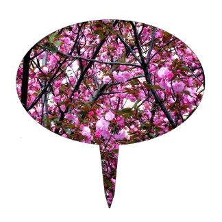 Flores de cerezo figuras para tartas