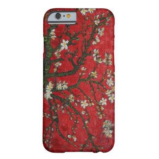 Flores de cerezo florales del vintage funda para iPhone 6 barely there