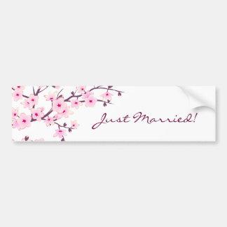 Flores de cerezo florales pegatina para auto