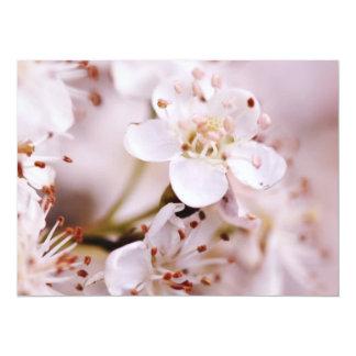 """Flores de cerezo florecientes invitación 5.5"""" x 7.5"""""""