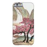 Flores de cerezo funda de iPhone 6 barely there