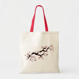 Flores de cerezo góticas bolsa tela barata
