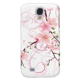 Flores de cerezo hermosas funda para galaxy s4