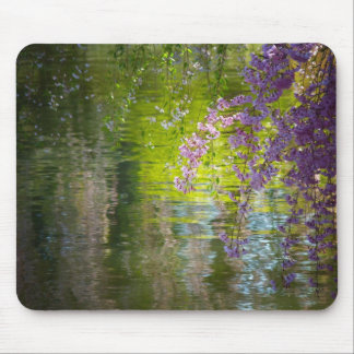 Flores de cerezo impresionistas tapete de ratón