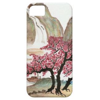 Flores de cerezo iPhone 5 Case-Mate coberturas