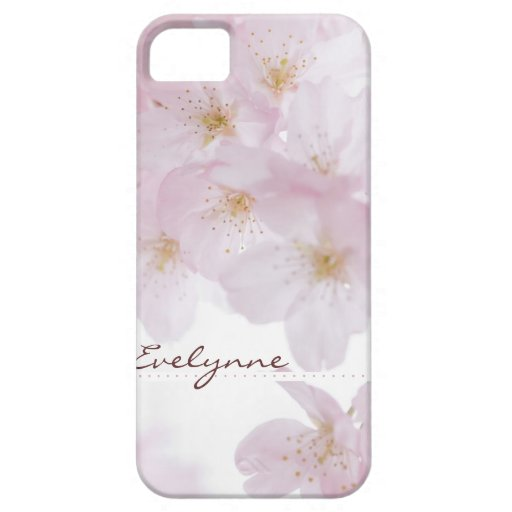 Flores de cerezo iPhone 5 protector