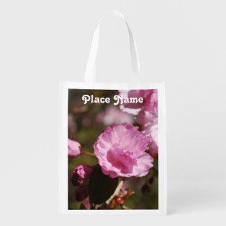 Flores de cerezo japonesas bolsas para la compra