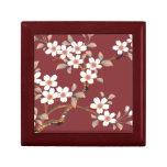 Flores de cerezo japonesas cajas de recuerdo