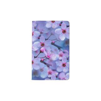 Flores de cerezo japonesas libreta de bolsillo moleskine