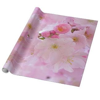 Flores de cerezo, japonesas papel de regalo