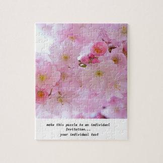 Flores de cerezo, japonesas puzzle con fotos