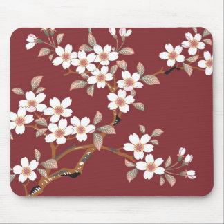 Flores de cerezo japonesas tapetes de raton