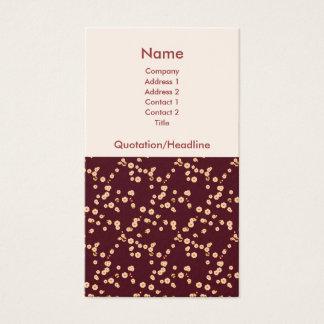 Flores de cerezo japonesas tarjetas de visita