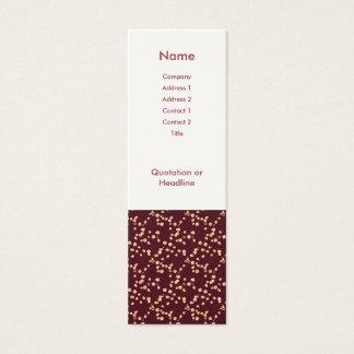 Flores de cerezo japonesas tarjetas de visita mini