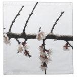 Flores de cerezo minimalistas servilletas