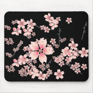 Flores de cerezo mouse pads