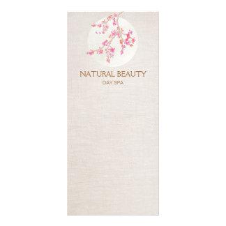 Flores de cerezo naturales del balneario de la tarjetas publicitarias personalizadas