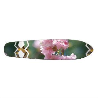 Flores de cerezo monopatín personalizado