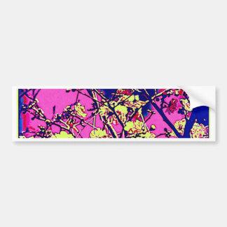 Flores de cerezo pegatina de parachoque