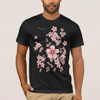 Flores de cerezo playera