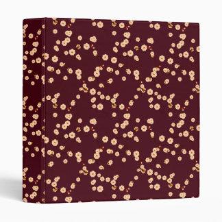 Flores de cerezo poner crema en Brown
