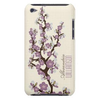 Flores de cerezo preciosas (lila) Case-Mate iPod touch protector