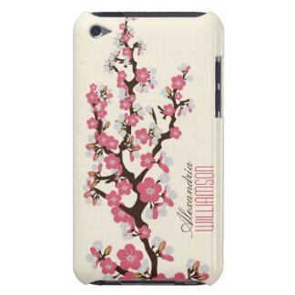 Flores de cerezo preciosas (rosa) iPod Case-Mate funda