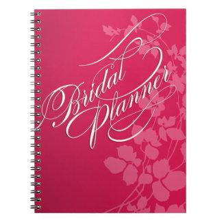 Flores de cerezo que casan rosa del fuschia el | libros de apuntes