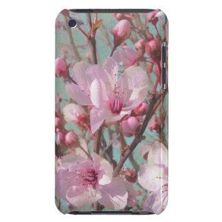 Flores de cerezo rosadas elegantes lamentables del Case-Mate iPod touch cárcasas