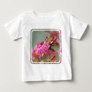 Flores de cerezo rosadas oscuras tee shirt