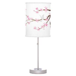 Flores de cerezo/Sakura de PixDezines Lámpara De Mesilla De Noche