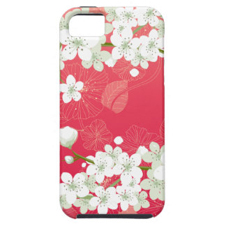 Flores de cerezo Sakura iPhone 5 Protectores