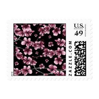 Flores de cerezo Sakura Sellos