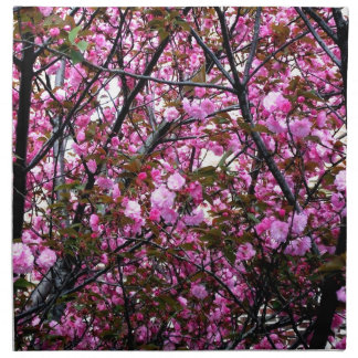 Flores de cerezo servilleta