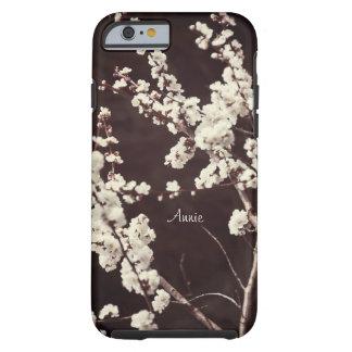 Flores de cerezo suaves de los tonos funda de iPhone 6 tough
