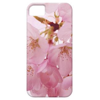 Flores de cerezo suaves del rosa del vintage iPhone 5 funda