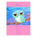 Flores de cerezo tarjeta de visita