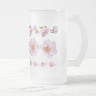 Flores de cerezo tazas de café