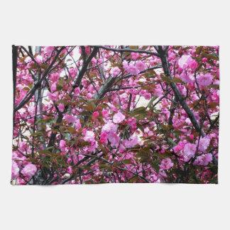 Flores de cerezo toallas