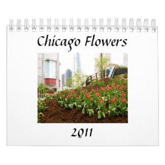 Flores de Chicago 2011 Calendarios