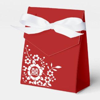 Flores de corte de papel • Felicidad doble Paquete De Regalo Para Bodas